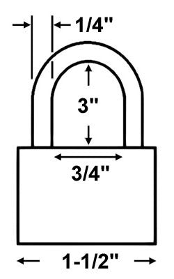 american lock a42 brass padlock Padlock Diagram master lock 570tlh 1 1 2 in solid